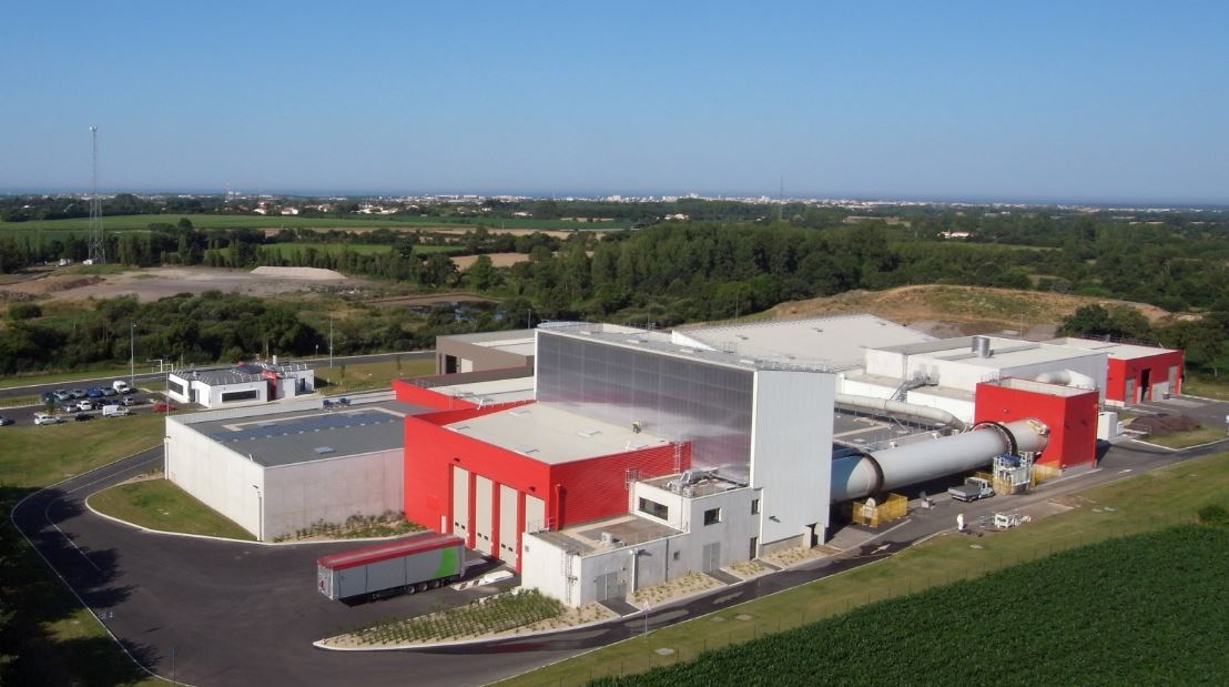 Household waste sorting and composting Facility in Château d'Olonne