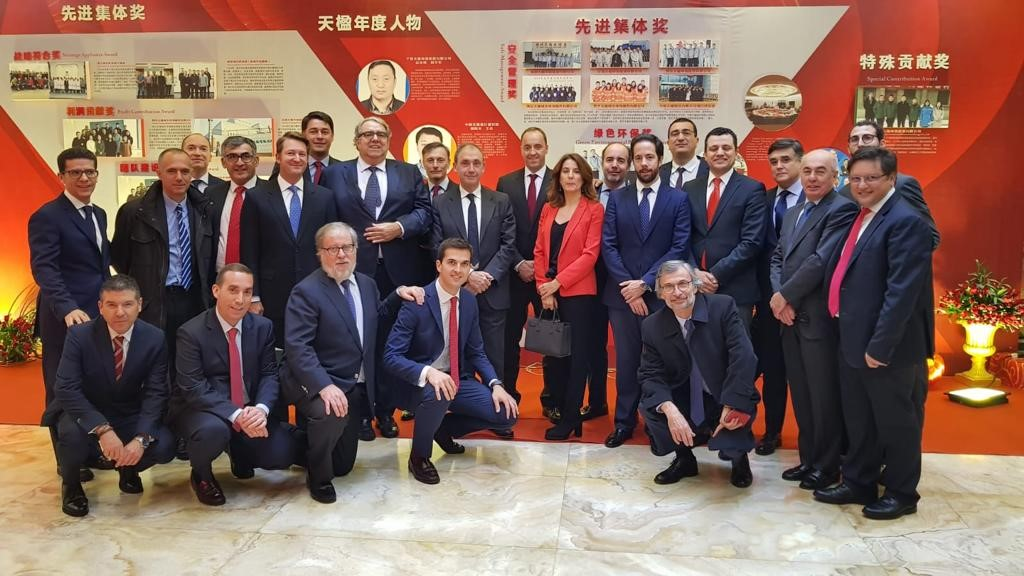 CNTY honoured its personnel and also those of the Urbaser Group and its subsidiary EUTY (Europe TianYing)
