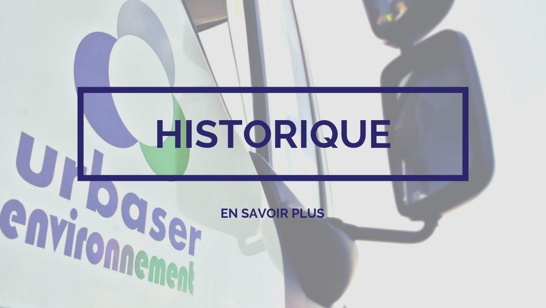 Urbaser Environnement - Historique
