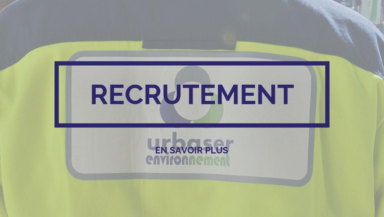 Urbaser Environnement - Recrutement